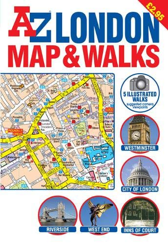A-Z London Map and Walks (Street Maps & Atlases S.) (London Map A-z)