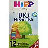 Hipp bébé bio lait - à partir du 12e mois, 4-pack (4 x 800g)