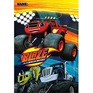 Blaze y los Monster Machines- Blaze Loot Bags (Amscan 9901358)