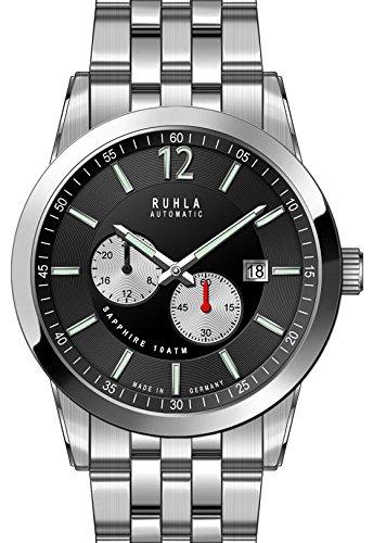 garde 'ruhla relojes de ruhla reloj automático para hombre 31002m con cristal de zafiro