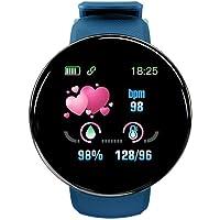 "Smartwatch Damen Herren Fitness Tracker Uhr 1.3"" HD Voll Touchscreen Kompatibel Android iOS Schrittzähler Watch…"