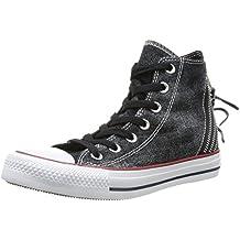 1317d337ef2c Converse Damen Chuck Taylor All Star Femme Sparkle Wash Tri Zip Hi Sneaker  schwarz Talla