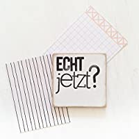 "Magnet ""echtJETZT"" 7,5×7,5cm"