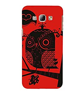 EPICCASE traditional drawing Mobile Back Case Cover For Samsung Galaxy A8 (Designer Case)
