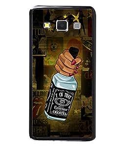 PrintVisa Designer Back Case Cover for Samsung Galaxy A7 (2015) :: Samsung Galaxy A7 Duos (2015) :: Samsung Galaxy A7 A700F A700Fd A700K/A700S/A700L A7000 A7009 A700H A700Yd (Love Lovely Attitude Men Man Manly)