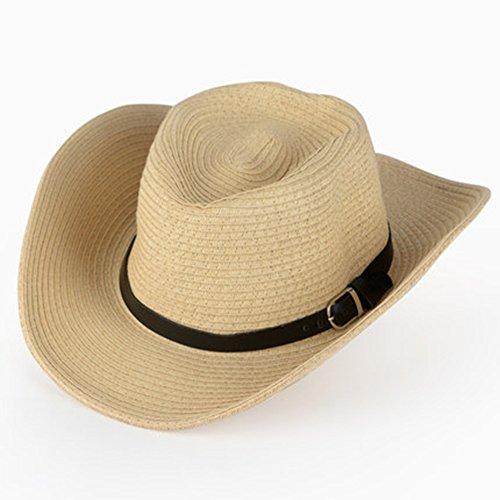 Casquettes HUO Chapeau de Cowboy Pliable pour Hommes de Protection Solaire Chapeau extérieur de Chapeau de pêcheur de Chapeau de pêcheur de Chapeau de