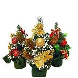 Sedeta New Hot 20CM Mini Ornament künstliche Weihnachtsbaum-Dekoration für Ihre Autos High Quality Weihnachtsbaum-Leuchten Weihnachtsbaum ist klein Weihnachtsbaum künstlich Schlussverkauf beautifull