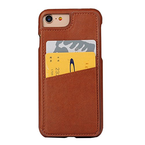 Case per iPhone 6 Card ,Cover per iPhone 6, Bonice Vintage Synthetic Leather Wallet Ultra Slim Professional Executive Snap On Cover with 2 Card Holder Slots Case Cover per iPhone 6/6S (4.7 pollici) +  Modello 04