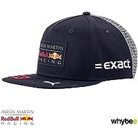 2018 Max Verstappen Flatbrim Cap. Aston Martin Red Bull F1 Team - Gorra para adulto