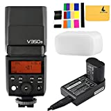 Godox V350S TTL 2.4G Camera Flash with Built-in Rechargeable 7.2V/2000mAh Li-ion Battery