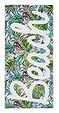 Catherine Lansfield Tropical Serviette de Plage Multi, Coton, Multicolore, 160x 76x 0.4cm