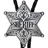Corbata de bolo Insignia de Sheriff, Vaquero, Occidental, corbata de bolo