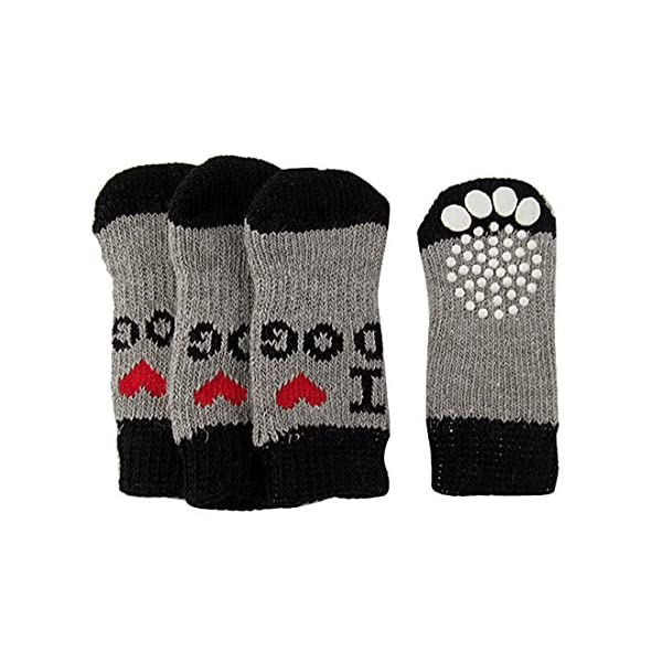 Winter-Ribbed-Hem-Acrylic-Shoes-Wear-Socks-for-Pet-Dog