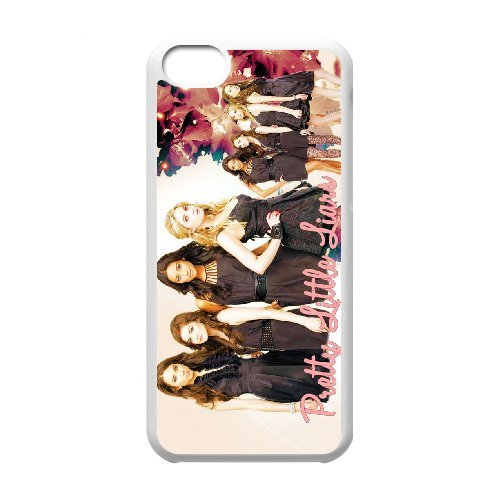 LP-LG Phone Case Of Pretty Little Liars For Iphone 5C [Pattern-5] White