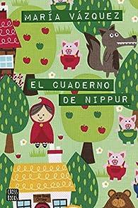El cuaderno de Nippur par María Vázquez