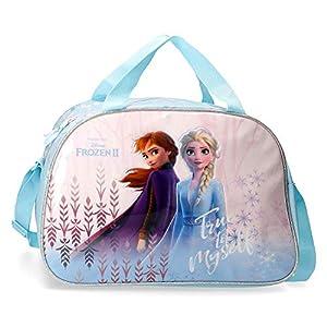 Disney Frozen True to Myself – Maleta de cabina, 50 cm, Azul