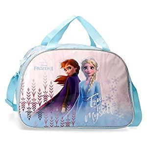 51YRBUJMTPL. SS300  - Disney Frozen True to Myself - Maleta de cabina, 50 cm, Azul