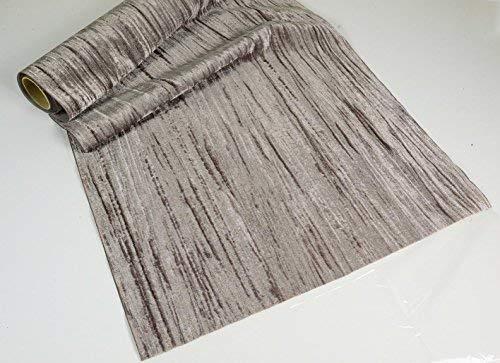 Tissu d'ameublement samt-crush gris