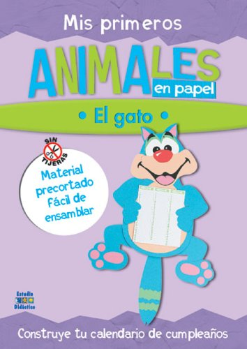 El Gato [With Punch Outs] (Trabajos Manuales En Papel Series/Paper Work Manuals) por Edimat Libros