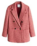 Mango Damen Houndstooth Coat 41080770 (Large)