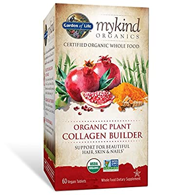 Garden of Life - mykind Organics Organic Plant Collagen Builder - 60 Vegan Tablet(s)