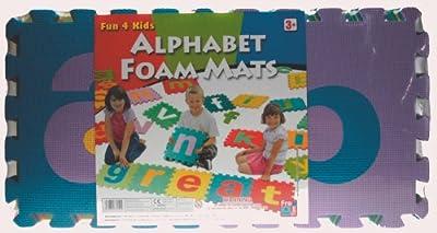Free Time 4 Kidz - Esterillas de espuma con el alfabeto por Free Time 4 Kids