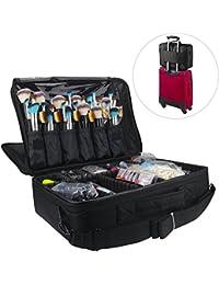 Travelmall Cosmético Organizador-Profesional Maquillaje Case-Travel Maquillaje Herramientas Contenedor