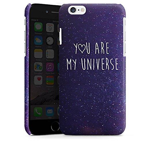 Apple iPhone 6 Plus Housse Étui Protection Coque Phrase Amour Amour Cas Premium brillant