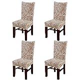 Eleoption rivestimento copri sedia con funzione di sostegno, elasticizzato, rimovibile, lavabile, in spandex per decorazione sala da pranzo in occasione dei banchetti di nozze, confezione