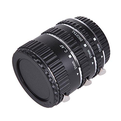 Silber Metall Mount Autofokus AF Makro Verlängerungsrohr für Canon EOS EF-S Objektiv Kompatibel...