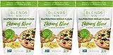 Blends By Orly Farina da pane GF - farina senza glutine - farina per pane, crosta di Pizza e Pasta - 60 Oz 3 Pack Tuscany Blend