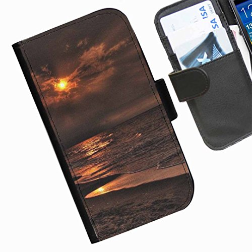Hairyworm- Himmel Seiten Leder-Schützhülle für das Handy Sony Xperia SP (C5302, C5303, C5306)