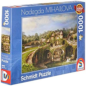 Schmidt Spiele Puzzle 59608nadegda mihailova, Natural hogar, Puzzle de 1000Piezas, Multicolor