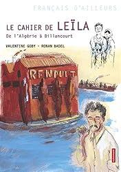 Le cahier de Leïla : De l'Algérie à Billancourt