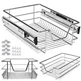 Kesser Teleskopschublade 40 cm ✓ Küchenschublade ✓ Küchenschrank ✓ Korbauszug ✓ Schrankauszug ✓ Vollauszug ✓ Schublade