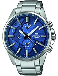 Casio Edifice Herrenuhr Analog Quarz mit Edelstahlarmband – ETD-300D-2AVUEF