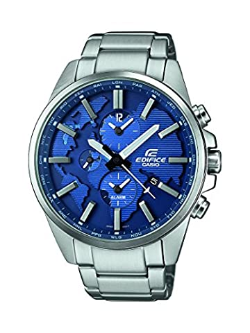 Casio Edifice - Herren-Armbanduhr mit Analog-Display und Edelstahlarmband - ETD-300D-2AVUEF