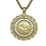 MCSAYS Mode Anniyo Türkei Münze Halskette Arabische Münzen Schmuck Osmanli Turklerin Anhänger Strass