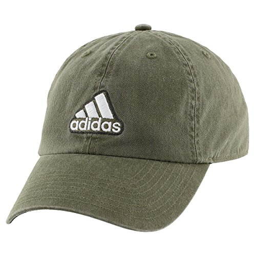 adidas Herren Ultimate Cap, Herren, Earth Green/Black/Clear Grey