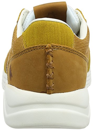 FLY London Shya955fly, Sneakers Basses Homme Jaune (Mustard/Blue 001)