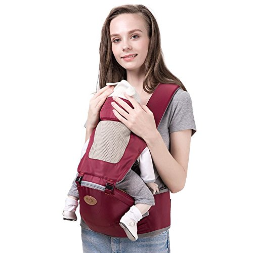 b248f999dfe Heruai Multi-Functional Summer Baby Waist Stool 3D Breathable Baby Carrier  Sling With Padded Stool Shoulder Child Carrier Baby Slings Backpack Hold  With ...