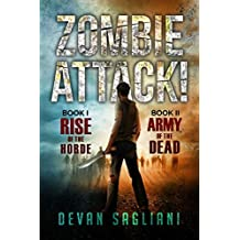Zombie Attack! 1 and 2: Rise of the Horde / Army of the Dead by Devan Sagliani (2014-10-14)