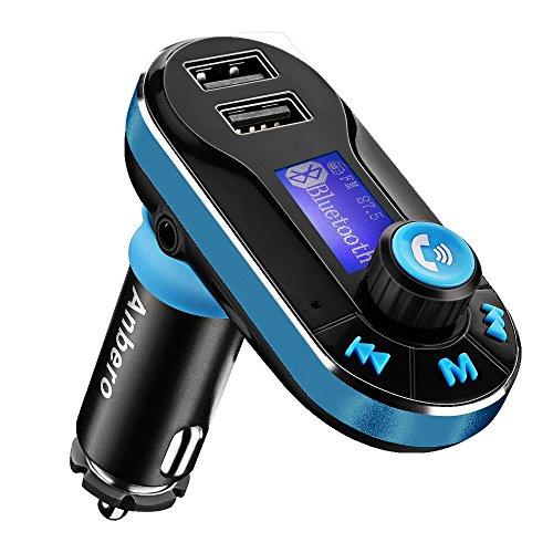 Transmisor FM Bluetooth para Coche, Kit Manos Libres para Coche Bluetooth