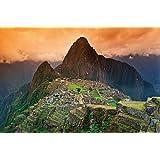 Machu Picchu papel - América del Sur de las ruinas de la ciudad de Machu Pichu cuadro - Póster XXL de Design, papel, 140 cm x 100cm - 1 Teilig