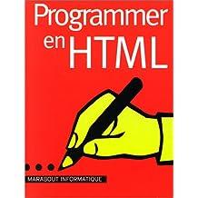 Programmer en HTML