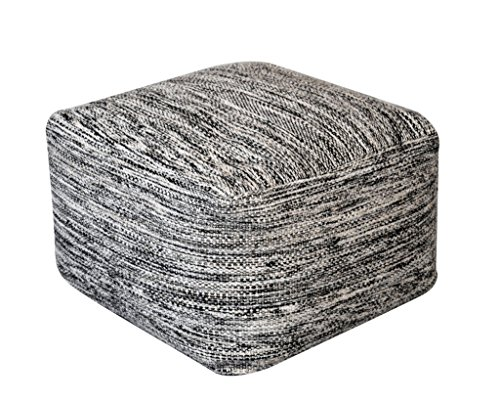 rugs2clear-fait-main-noir-la-laine-sans-pour-autant-remplisseuse-mason-pouf-55cm-x-55cm-x-35cm1-piec
