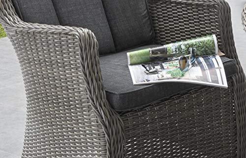 Gartenstuhl Luna mit Polster - 3