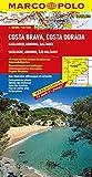 MARCO POLO Karte Costa Brava, Costa Dorada (MARCO POLO Karten 1:300000) - Polo Marco