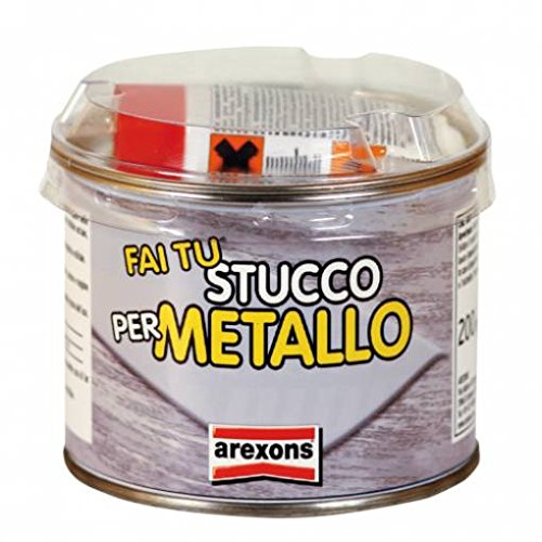 stucco-x-metalli-sigilla-ripara-acciaio-inox-ghisa-alluminio-zinco-arexons-200gr