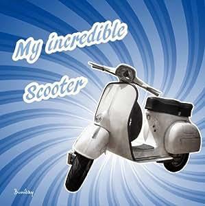 Tableau Vintage Scooter